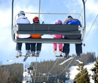 Cheapest skiing resorts from Post Office report