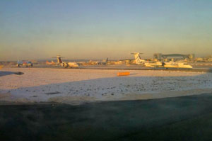 snow at gatwick