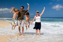 Hassle free Family Holiday