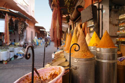 Moroccan holiday market
