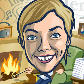 Caricature of Anna
