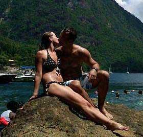 Romance on the rocks