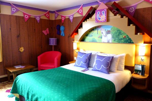 Lego Friends Premium Room at Legoland Resort Hotel