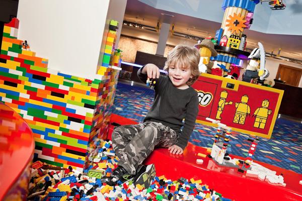 Lego Pit at Legoland Resort Hotel