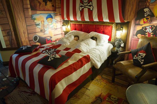 Pirate Premium Room at Legoland Resort Hotel