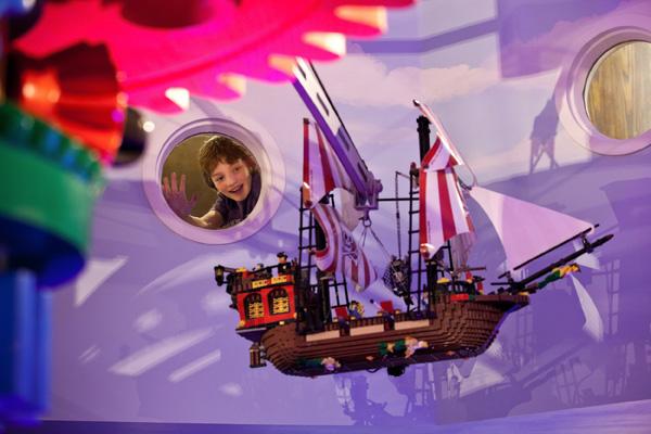 Lego Pirate Ship at Legoland Resort Hotel