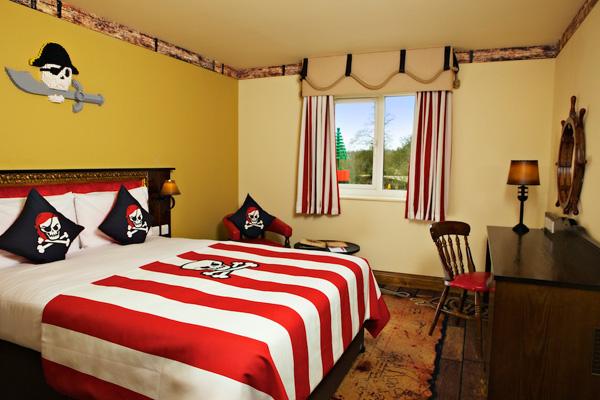Pirate Themed Room at Legoland Resort Hotel