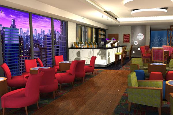 Skyline Bar at Legoland Resort Hotel