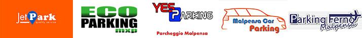 Malpensa Aeroporto logo parcheggi