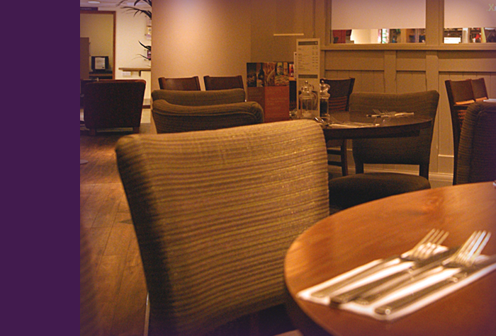 Restaurant at the Glasgow Airport Premier Inn