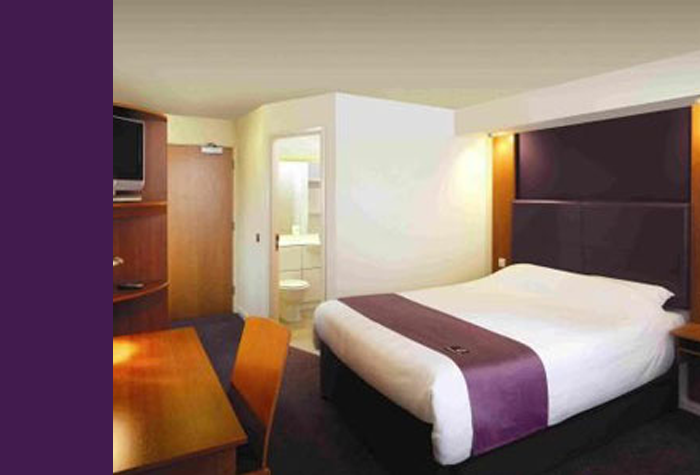Glasgow Airport Premier Inn Double Room