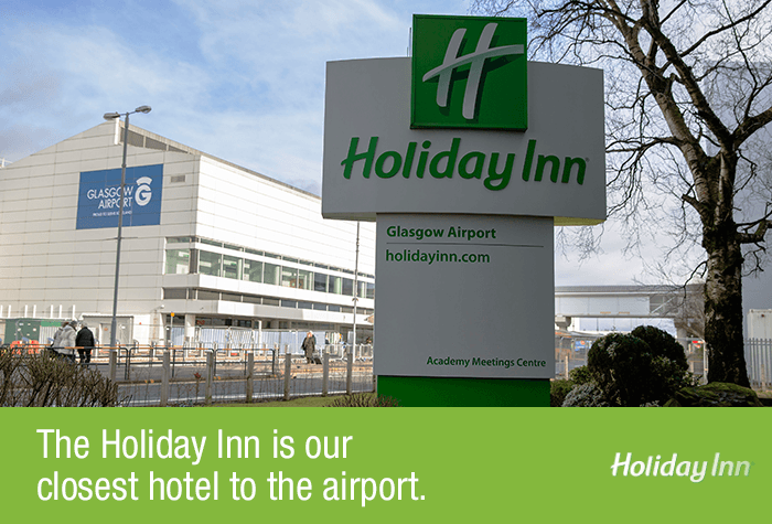 Glasgow Airport Holiday Inn Exterior
