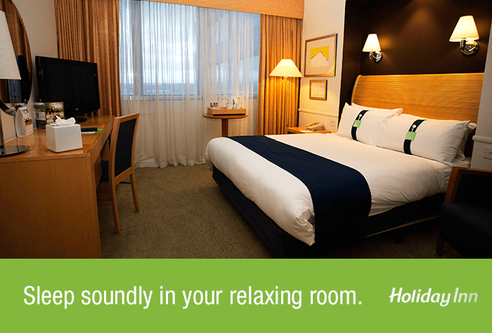 Glasgow Airport Holiday Inn Double Room