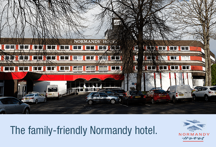 Exterior Normandy Hotel Glasgow Airport