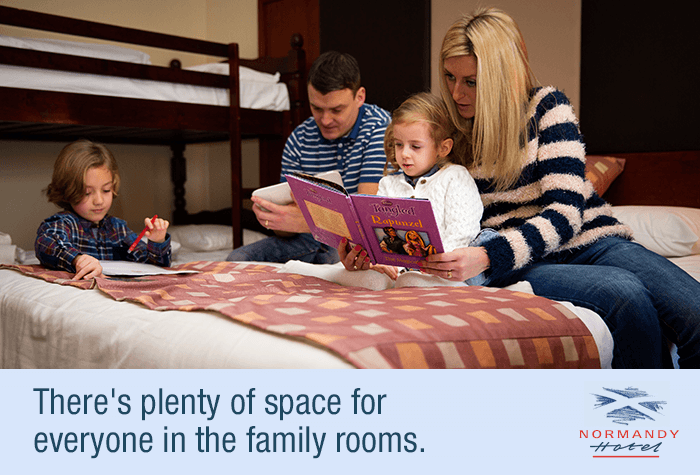 Family Room at the Normandy Hotel Glasgow Airport
