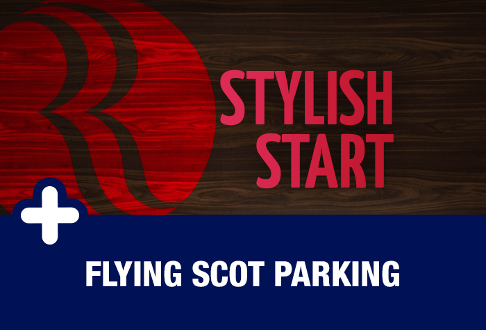 Flying Scot parking with Glasgow Airport Ramada Hotel