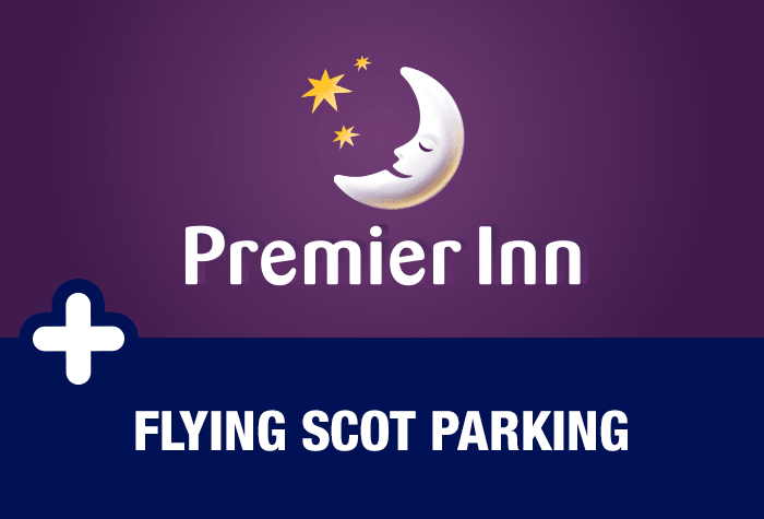 Flying Scot parking at the Glasgow Airport Premier Inn
