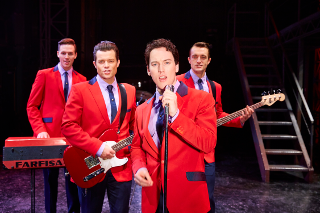 Jersey Boys are vocally beautiful
