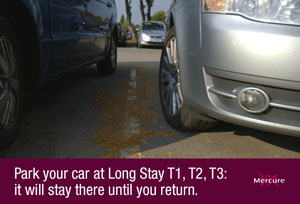 Parking at the Mercure London Heathrow Airport